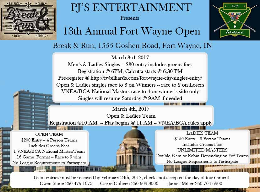 13th Annual Fort Wayne Open