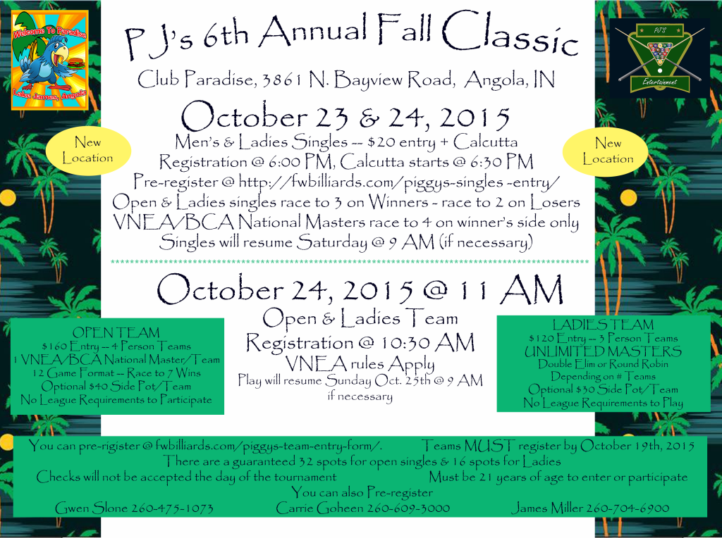 6th Annual Fall Classic