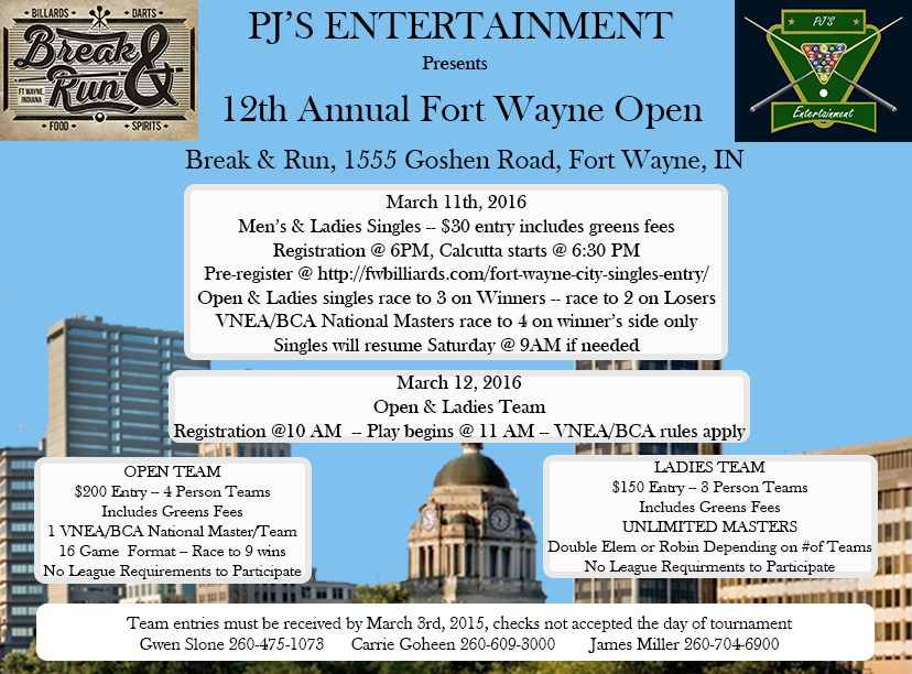 12th Annual Fort Wayne Open